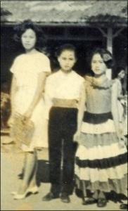 与陈珠老师和秀琴跳绅士与女郎
